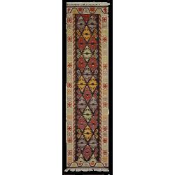 Tapis couloir Paris - Kilim neuf - Motif traditionnel