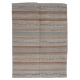 Kilim neuf - motif contemporain - BE040542