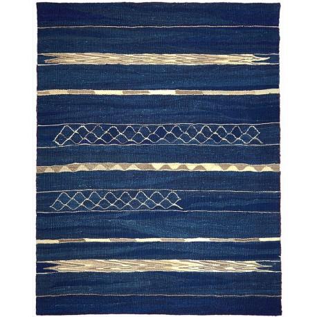 tapis bleu paris