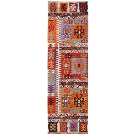 Kilim Çal tapis de couloir vintage paris