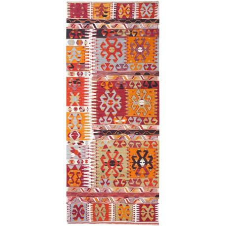 Kilim Çal tapis vintage de couloir