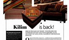 Kilim is back