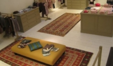 Kilims of the Galerie TRIFF shown in the Bonpoint stores