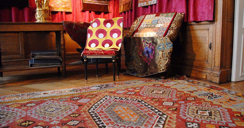tapis kilim design tapis contemporain et kilim ancien galerie triff - Tapis Kilim