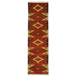 Runner flatweave -New kilim – Traditional pattern