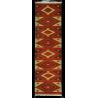 Tapis de passage Paris - Kilim neuf - Motif traditionnel