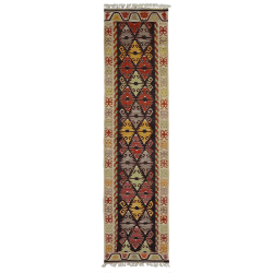 Runner rug -New kilim – Traditional pattern