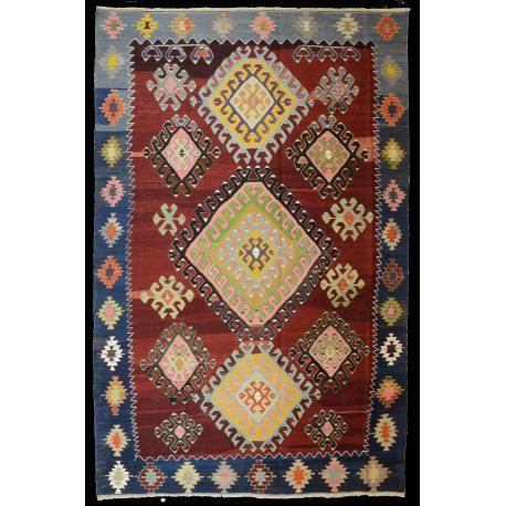 Paris's rug -Antique rug