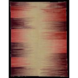 Tapis ikat Paris -Kilim neuf - Motif contemporain