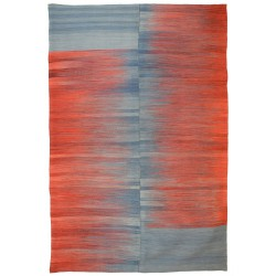 Ikat rug - New kilim - Contemporary pattern
