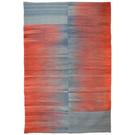 Ikat rug - New kilim - Contemporary pattern