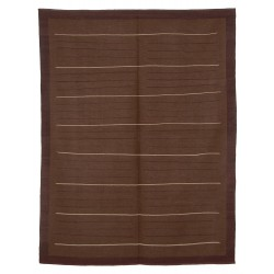 Dark Paris rug -New kilim - Contemporary pattern