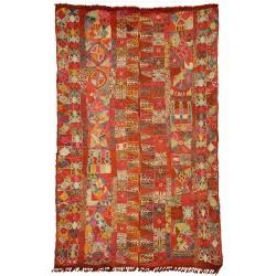 embroyed rug