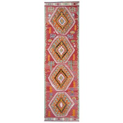 Mut Kilim antique rug corridor size paris