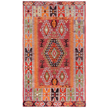 Çal Kilim antique rug big size paris