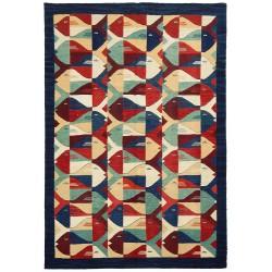 tapis motif suedois