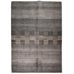 tapis contemporain gris