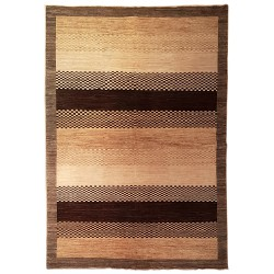 tapis contemporain couleurs naturelles