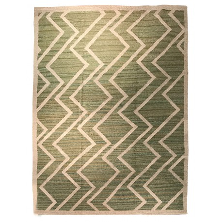 oversize green rug paris