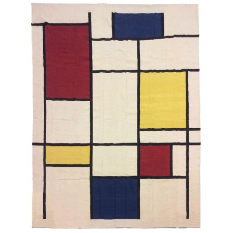Oversize contemporary rug paris