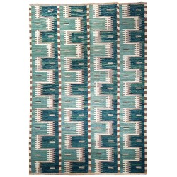 oversize green rug paris