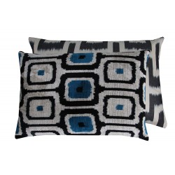 silk cushion paris