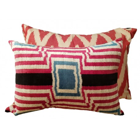 silk cushion paris