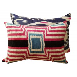 Ikat cushion paris