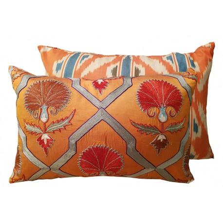 embroyed cushion paris
