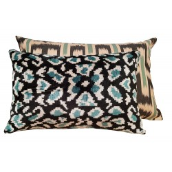 Ikat cushion