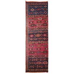antique corridor rug