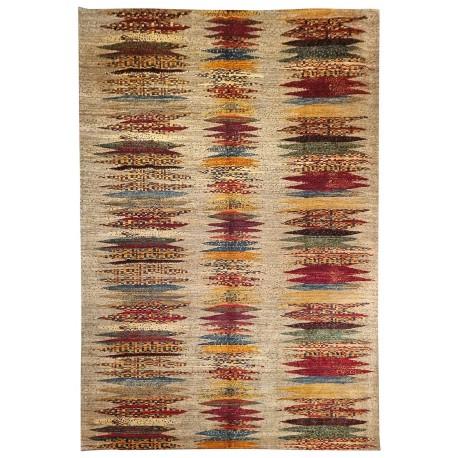 Hand-knotted  rug contemporary Paris