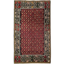 antique flowrer carpet