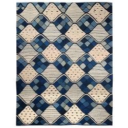 Swedish blue rug
