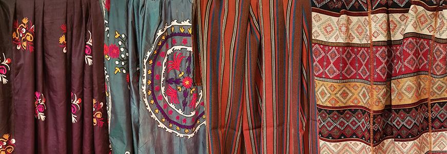 Suzani and Weaving